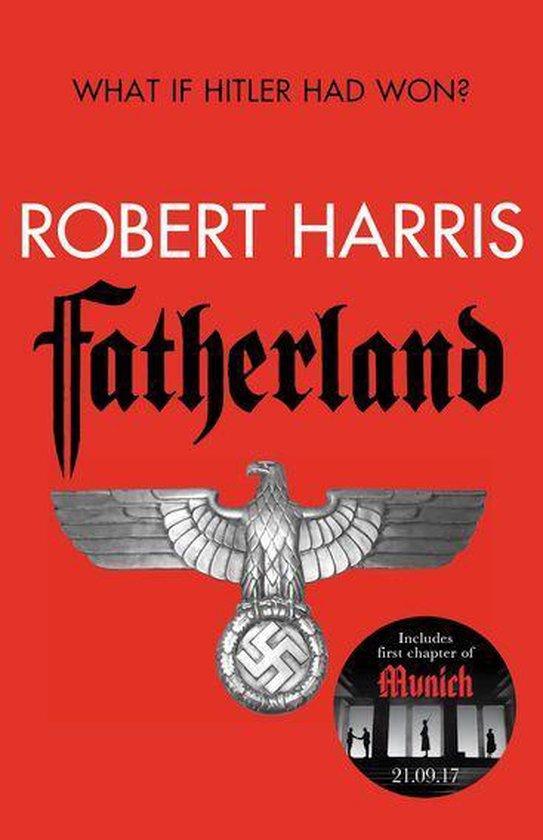 CD cover van Fatherland van Robert Harris