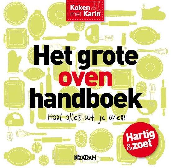 Omslag van Koken met Karin  -   Het grote ovenhandboek