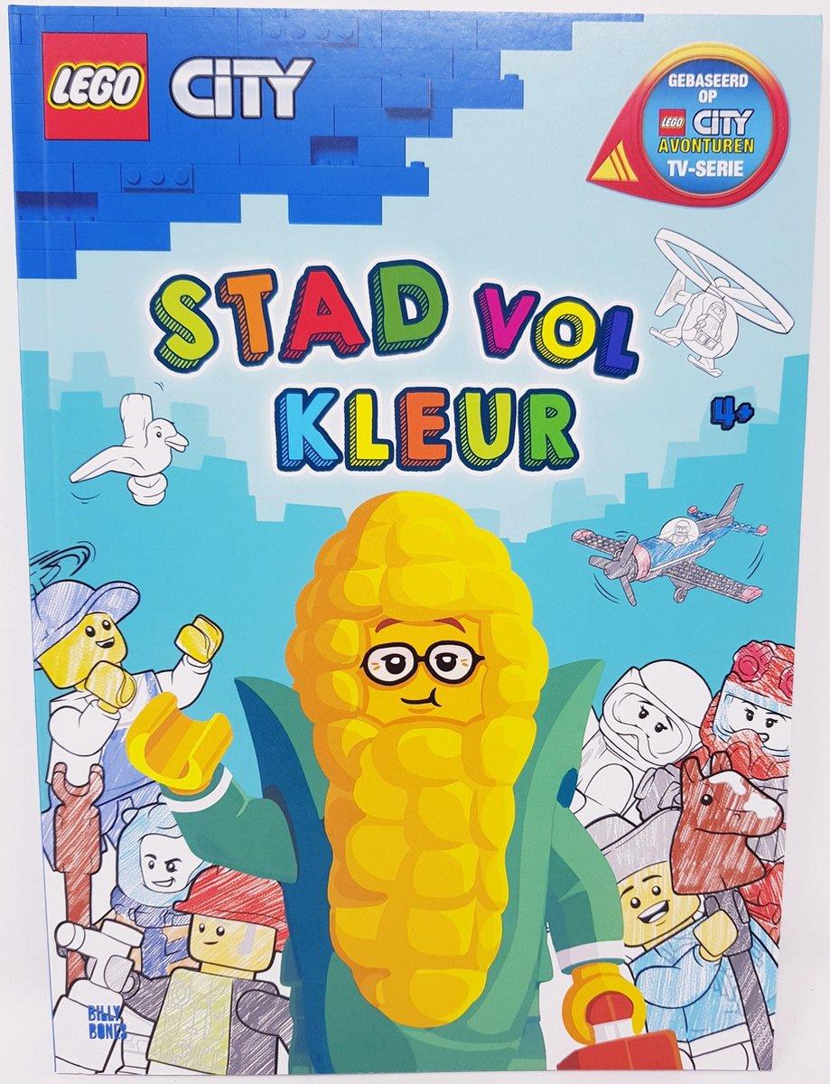 LEGO - CITY - KLEURBOEK - 48 KLEURPLATEN