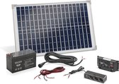 Esotec Solar 20W Zonne-energie Netsysteem
