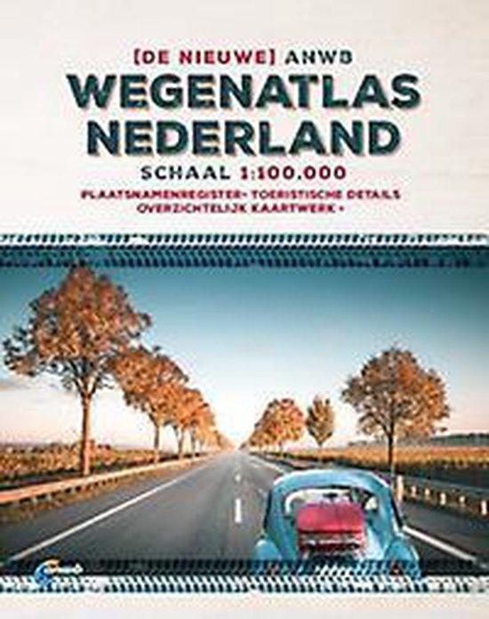 Boek cover ANWB wegenatlas  -   De ANWB Wegenatlas Nederland 1:100.000 van ANWB (Onbekend)