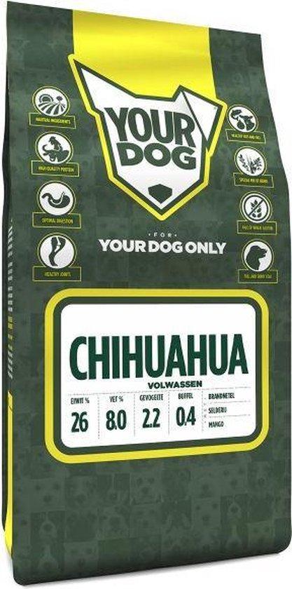 Yourdog chihuahua volwassen hondenvoer 3 kg