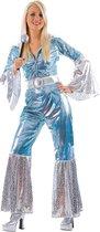 Generik Verkleedkleding Abba Jumpsuit kostuum voor dames Blauw - M