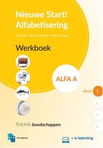 Boek cover Nieuwe Start Alfabetisering  - Nieuwe Start Alfabetisering Alfa A Deel 1 Werkboek van