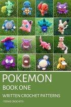 Pokemon Book One - Written Crochet Patterns (Unofficial)
