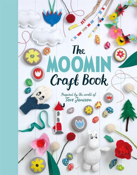 Boek cover The Moomin Craft Book van Macmillan AdultS Books (Onbekend)