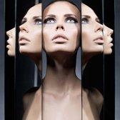Reflections - VIERKANT 120x120, kunst op plexiglas. Bestel uw plexiglas schilderij bij The Art of Interior!