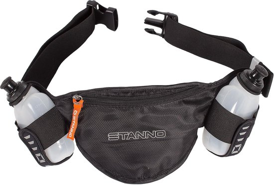 Stanno Bottle Belt Running belt - Zwart - Maat One Size