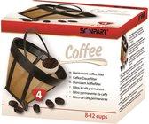 Scanpart Goldtone Koffiefilter