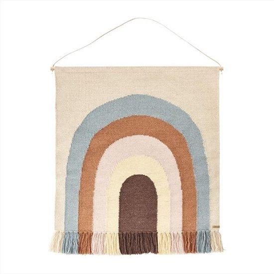 OYOY - Follow the rainbow rug / wandkleed