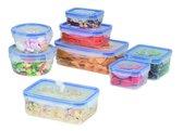 Edco Voedsel bewaardozen vershoudbakjes - 16 delige set - plastic