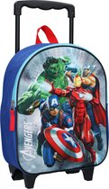 Marvel Avengers Save The day Rugzaktrolley 3D - 9,3 l - Blauw