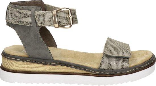 Rieker dames sandaal Grijs Maat 42