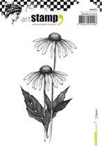 Carabelle cling stamp A6 2 fleursCarabelle cling stamp A6 2 fleurs