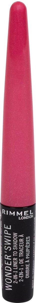 Rimmel London Wonder swipe Eyeliner - 009 Mega Hottie Pink - Rimmel London