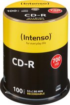 Intenso CD-R 700Mb 52x spindel (100)