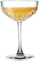 Timeless - Champagneglazen  - 255 ml - Set van 4