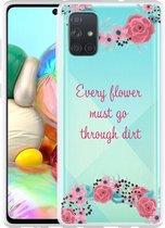 Samsung Galaxy A71 Hoesje Every Flower