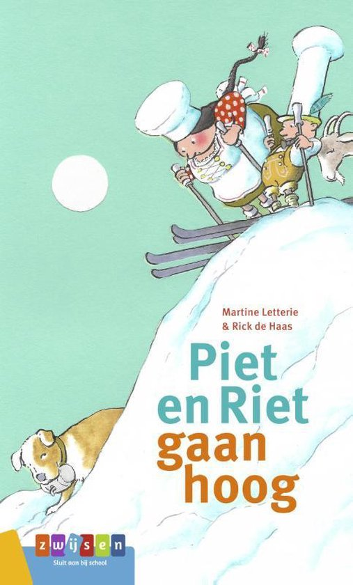 AVI groeiboeken  -   Piet en Riet gaan hoog