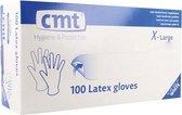 Latex wegwerphandschoentjes - verschillende maten - M