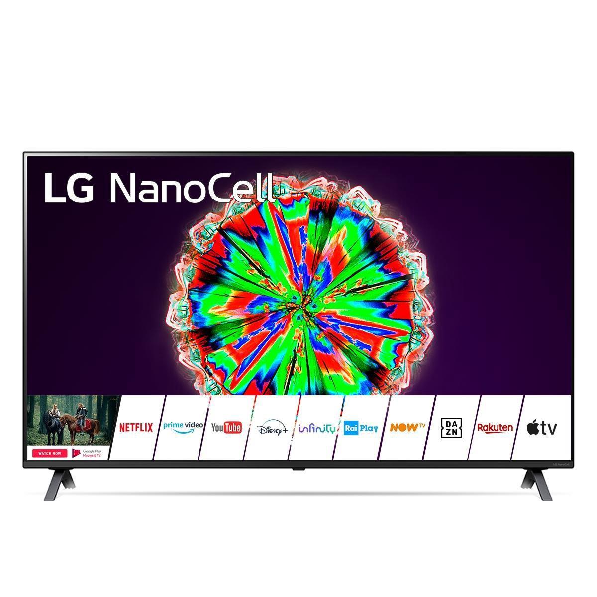 LG NanoCell 49NANO806NA 124,5 cm (49) 4K Ultra HD Smart TV Wi-Fi Titanium