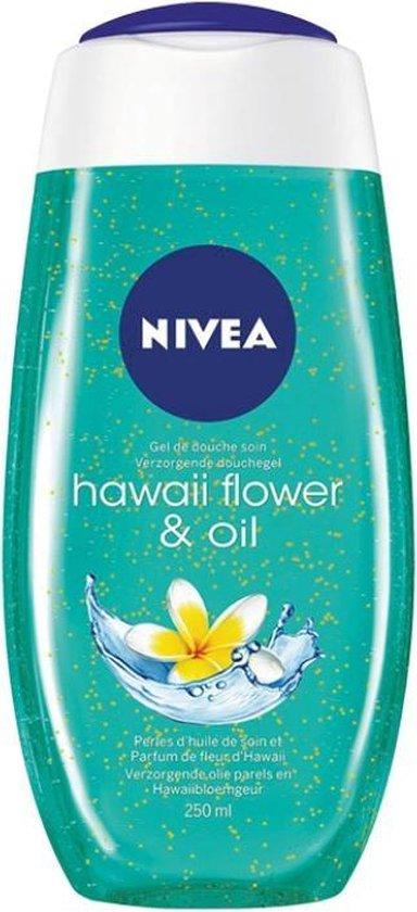NIVEA Hawaii Flower & Oil Douchegel - 6 x 250 ml - Voordeelverpakking