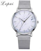 LVPAI Horloge H349 - Zilver/Wit - In horlogedoosje