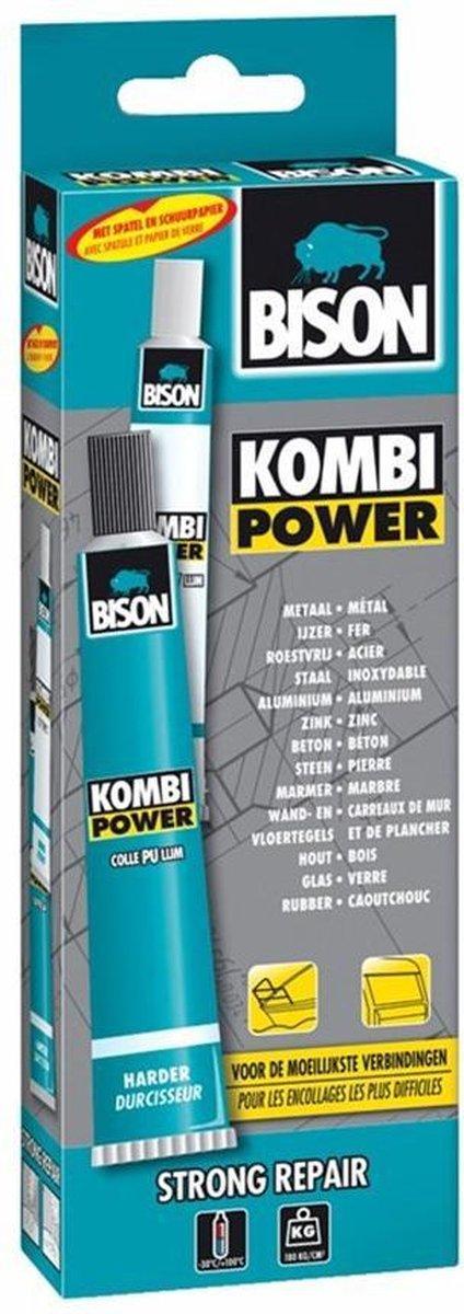 2-componentenlijm Kombi Power 65 ml - Bison