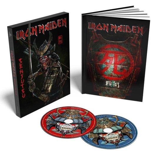 CD cover van Senjutsu (2CD) (Limited Edition) van Iron Maiden