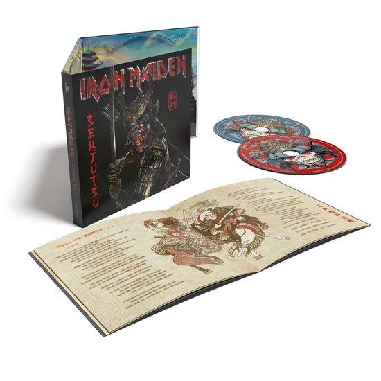 CD cover van Senjutsu (2CD) (Digipack) van Iron Maiden