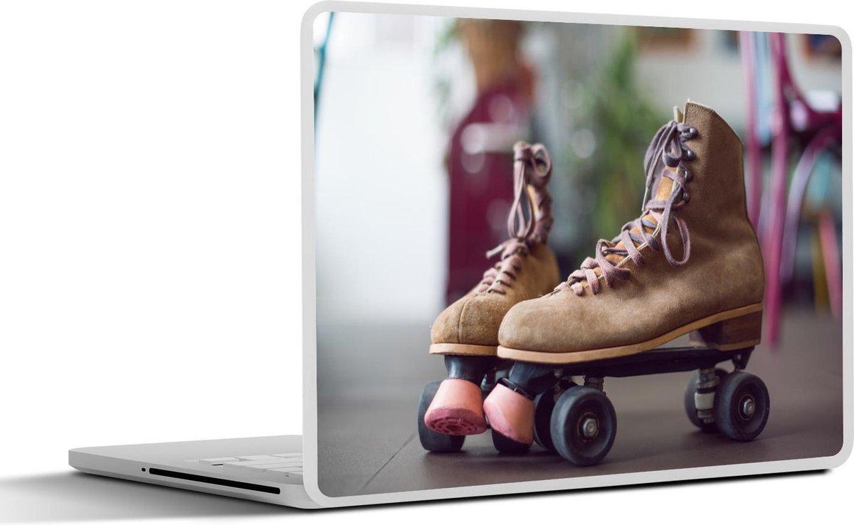 Laptop sticker - 15.6 inch - Rolschaatsen