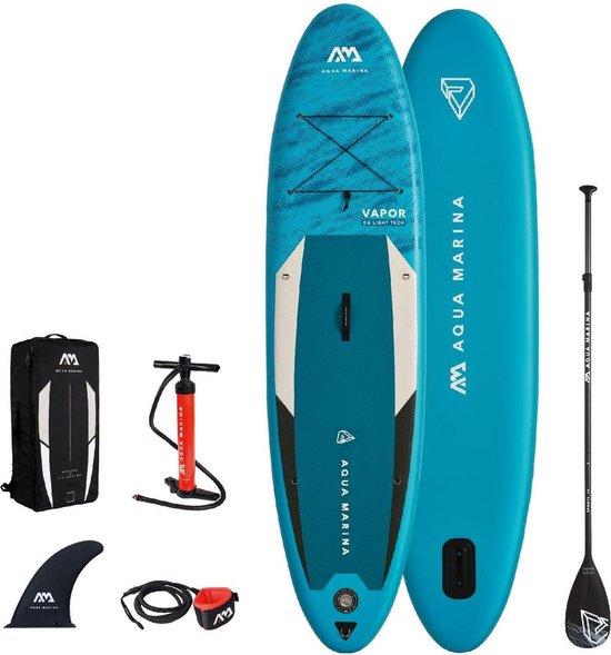 "Aqua Marina Sup - Vapor - 10'4"" - 2021 - Opblaasbare sup board - Allround - Beginner - Suppen - 15PSI"