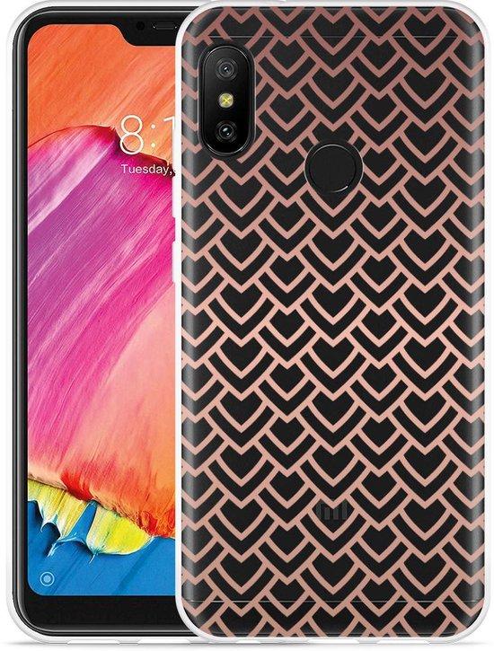 Xiaomi Redmi 6 Pro Hoesje Pink Pattern
