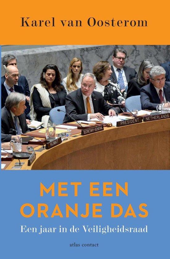 Met een oranje das - Karel van Oosterom |