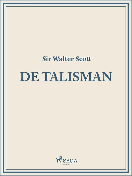 De Talisman - Sir Walter Scott pdf epub