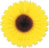 2x Decoratie zonnebloem 45 cm - decoratie bloemen feestversiering