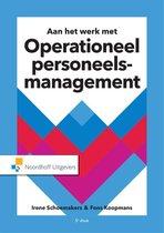 Boek cover Operationeel personeelsmanagement van Irene A.M. Schoemakers (Paperback)