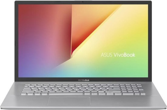 ASUS VivoBook 17 X712FA-AU686T-BE Notebook Zilver 43,9 cm (17.3'') 1920 x 1080...