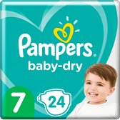 Pampers Baby Dry Gr.7 Extra Large (15+kg) 24 St.