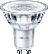 PHILIPS - LED Spot - CorePro 827 36D - GU10 Fitting - Dimbaar - 4W - Warm Wit 2700K   Vervangt 35W