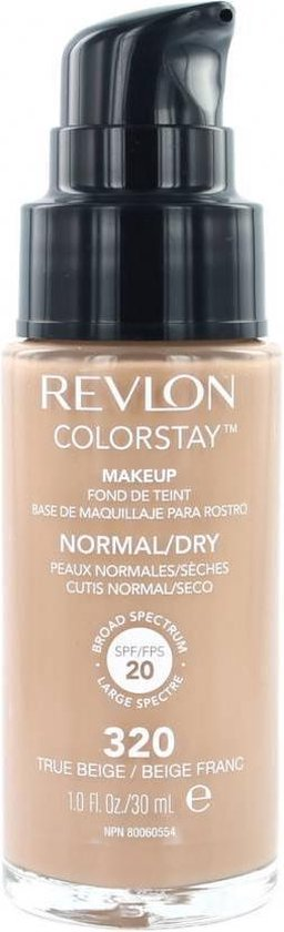 Revlon Colorstay Foundation With Pump dry skin