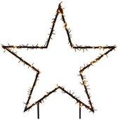 Verlichte ster voor in de tuin 73 cm - 150 LED lampjes