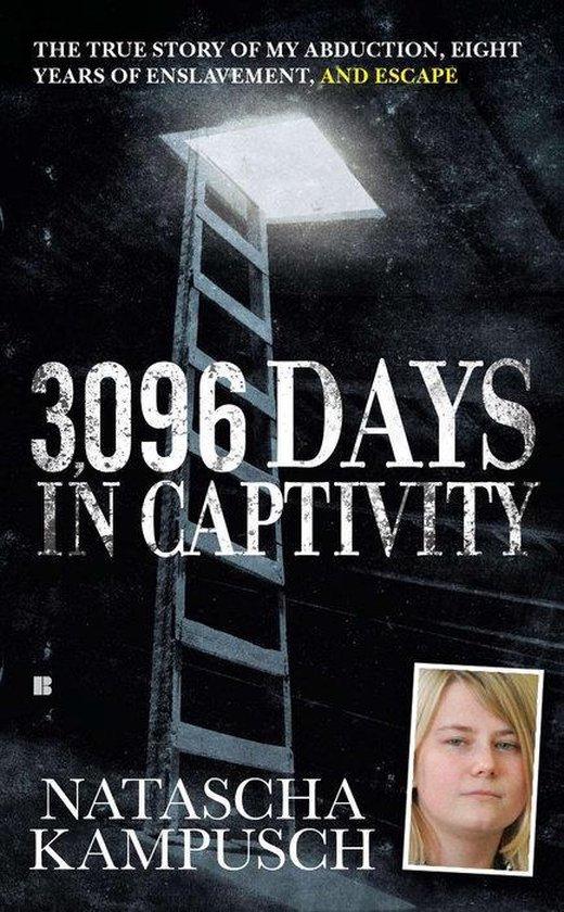 Boek cover 3,096 Days in Captivity van Natascha Kampusch (Paperback)