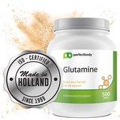 L-glutamine Poeder - 500 Gram - PerfectBody.nl