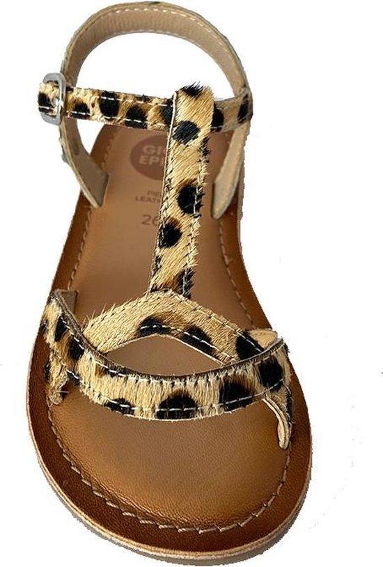 Bruine Gioseppo Sandalen Atoka Leopard LHitArua