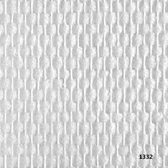 Intervos 1332 Glasvezelbehang ruit - Glasvlies Rol 25 Meter
