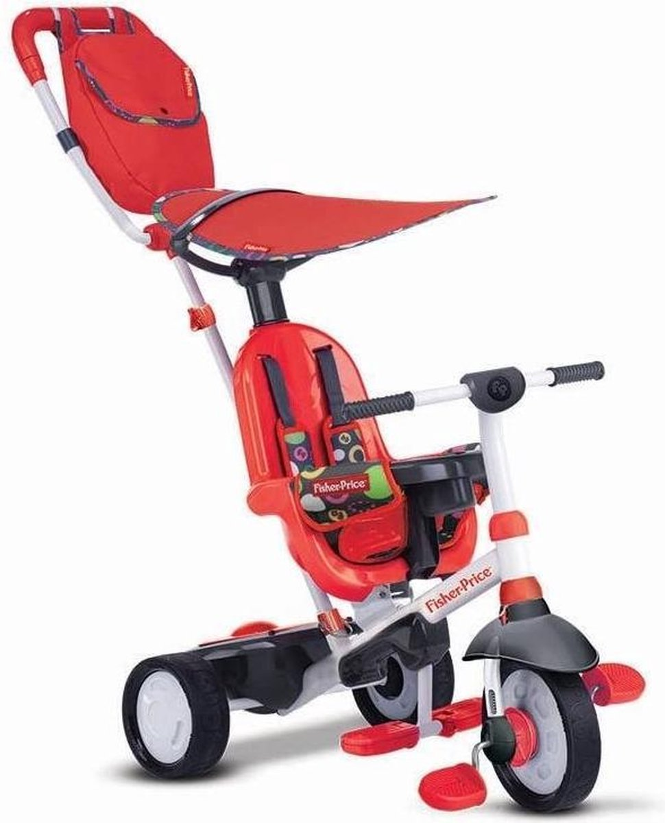 Fisher-price Charisma 4-in-1 - Driewieler - Unisex - Wit;Rood