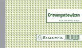20x Ontvangstbewijzen 10,5x18cm 50 blad doorschrijfpapier dupli Nederlandstalig