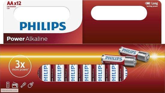 Philips AA Alkaline Batterijen - Philips