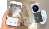 Cleverdog Smart Wi-Fi security camera - met Night vision - Grijs